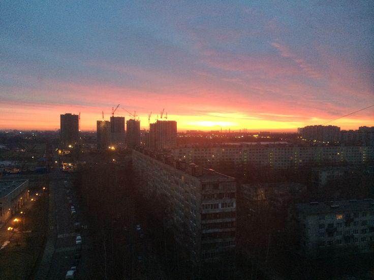 Sunrise in K-city
