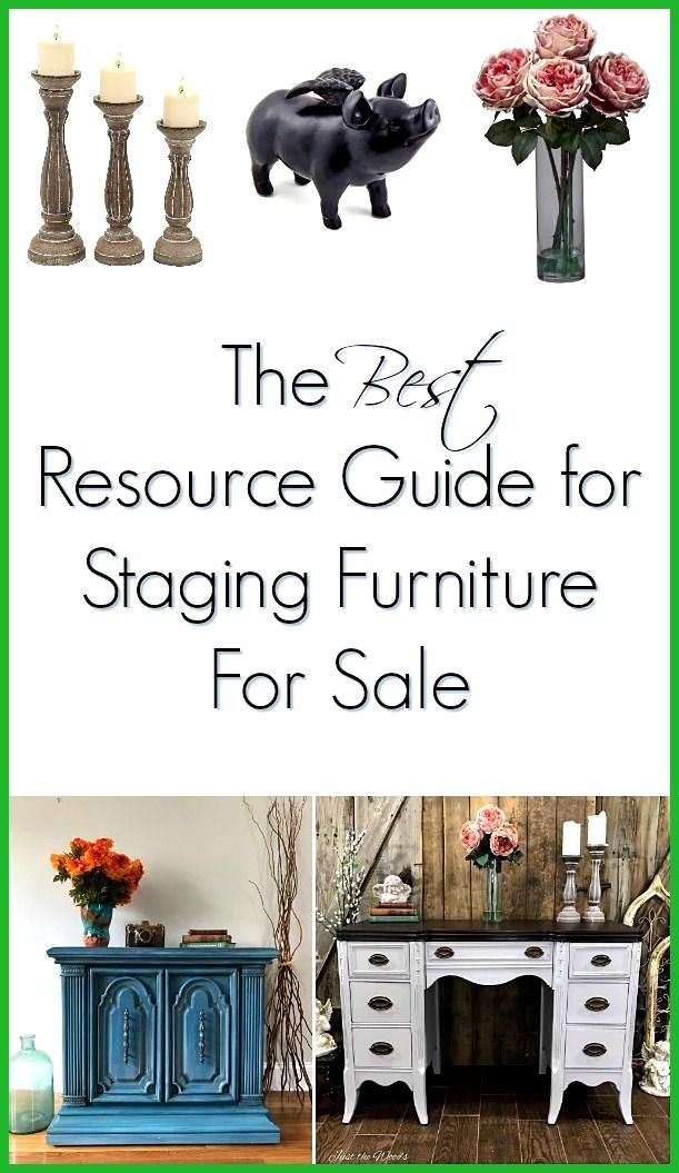 The Best Resource Guide For Unique Home Decor If You Paint Furniture To Sell Or Love Unique Home Decor Che Unique Home Decor Staging Furniture Cheap Home Decor