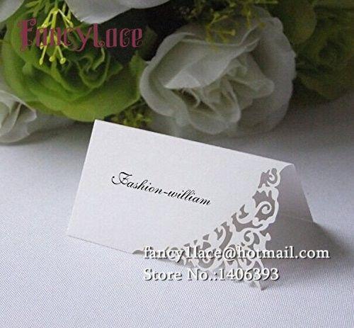 Лазерная резка свадьба карты 50 шт. кружева гостей место на день рождения ну вечеринку стол центральные украшения праздничные события поставляет купить на AliExpress