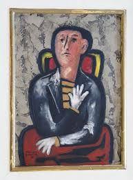 alejandro bonome - hombre con guantes blancos - (1968)