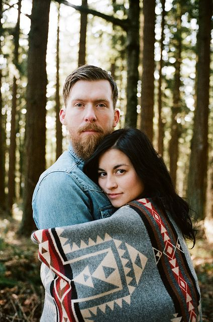 R. Kenaston and C. Hunter by James Fitzgerald III, via Flickr...engagement photo of my wife and i.