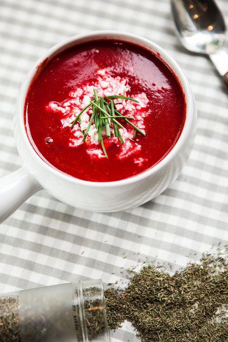 Sýr polévku krásně zjemní a osvěží; Jakub Jurdič