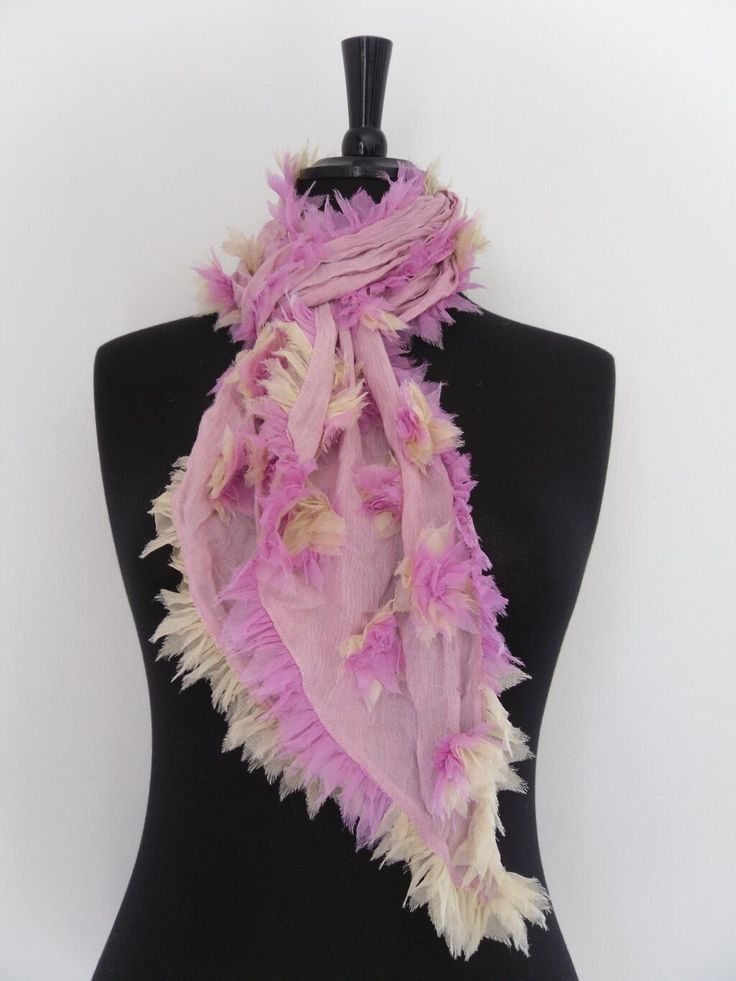 Pink Blossom silk mix Scarf  £12.50 Also available in Green. Go to http://www.chillistone.com  to purchase. pic.twitter.com/JHRsVYKxSy