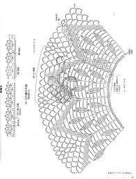 Risultati immagini per круглая кокетка крючком схемы
