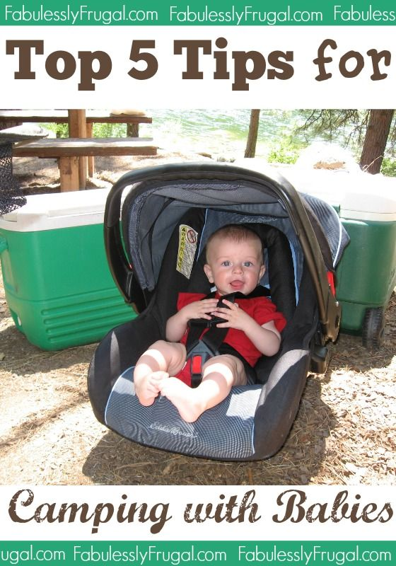 Camping with your little ones can be such a great experience if you're prepared! Check out these 5 Tips for Camping with Babies!