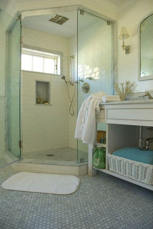 177 best cottage bathroom ideas images on pinterest for Cape cod bathroom design