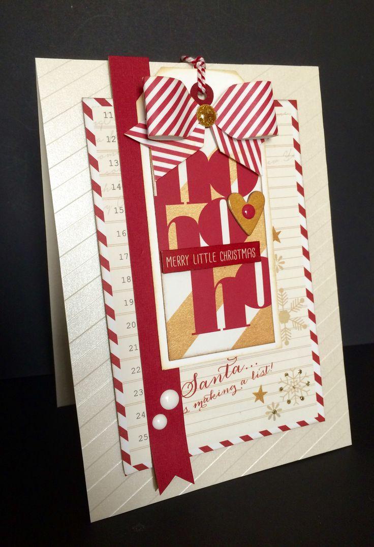 Scrapbook ideas christmas card - I Love Christmas Scrapbook Com