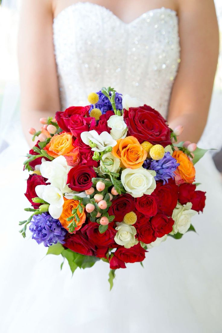 Kate and Daniel, 16 April 16 Bouquet of amazing colour and vibrancy.  Flowers by: Bloomfields Floral Design, Adelaide, South Australia Photo Credit: Prima Photographics and Videography