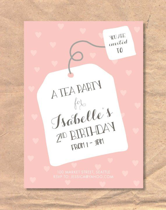 Life lesbians girls tea party invitations girl
