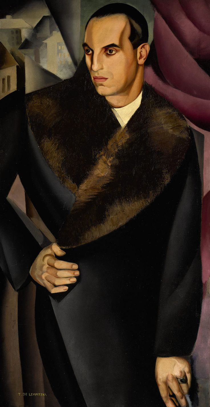 Tamara de Lempicka | 1898-1980, Poland | Portrait de Guido Sommi, 1925