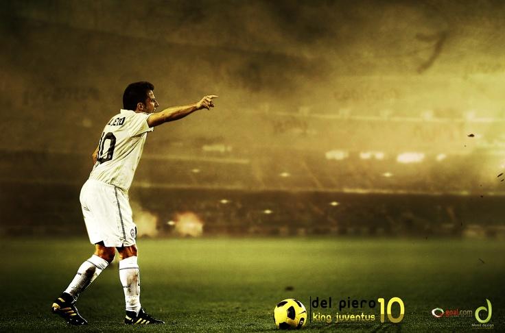 Alex Del Piero #ADP #Leyenda #Capitano