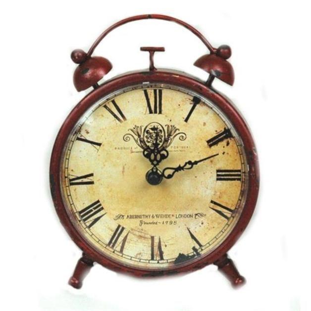 Zegar - budzik retro - Alejakwiatowa - Dodatki do domu