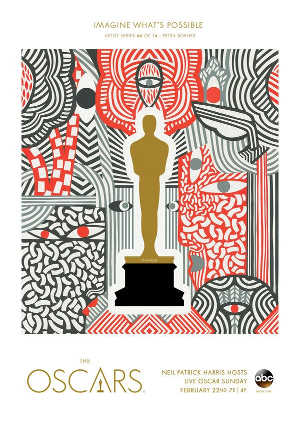 "Oscars 2015 ""Imagine What's Possible"" Artist Series: Petra Borner, Sweden   Oscars Art Gallery   