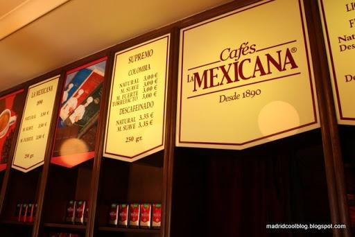 Cafés La Mexicana en Madrid