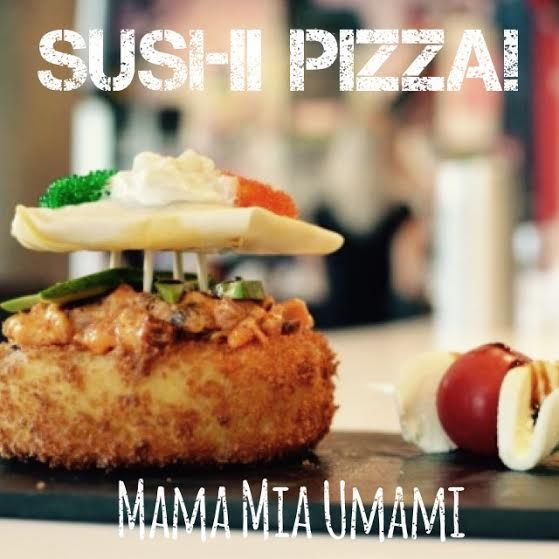 Try out our #sushipizza for #yycpizzaweek from Sept25-Oct4 to support @MealsonWheelsca @yycpizzaweek #burgushi #yyc