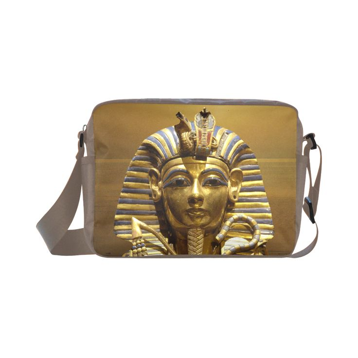 Egypt King Tut Classic Cross-body Nylon Bag. FREE Shipping. #artsadd #bags #egypt