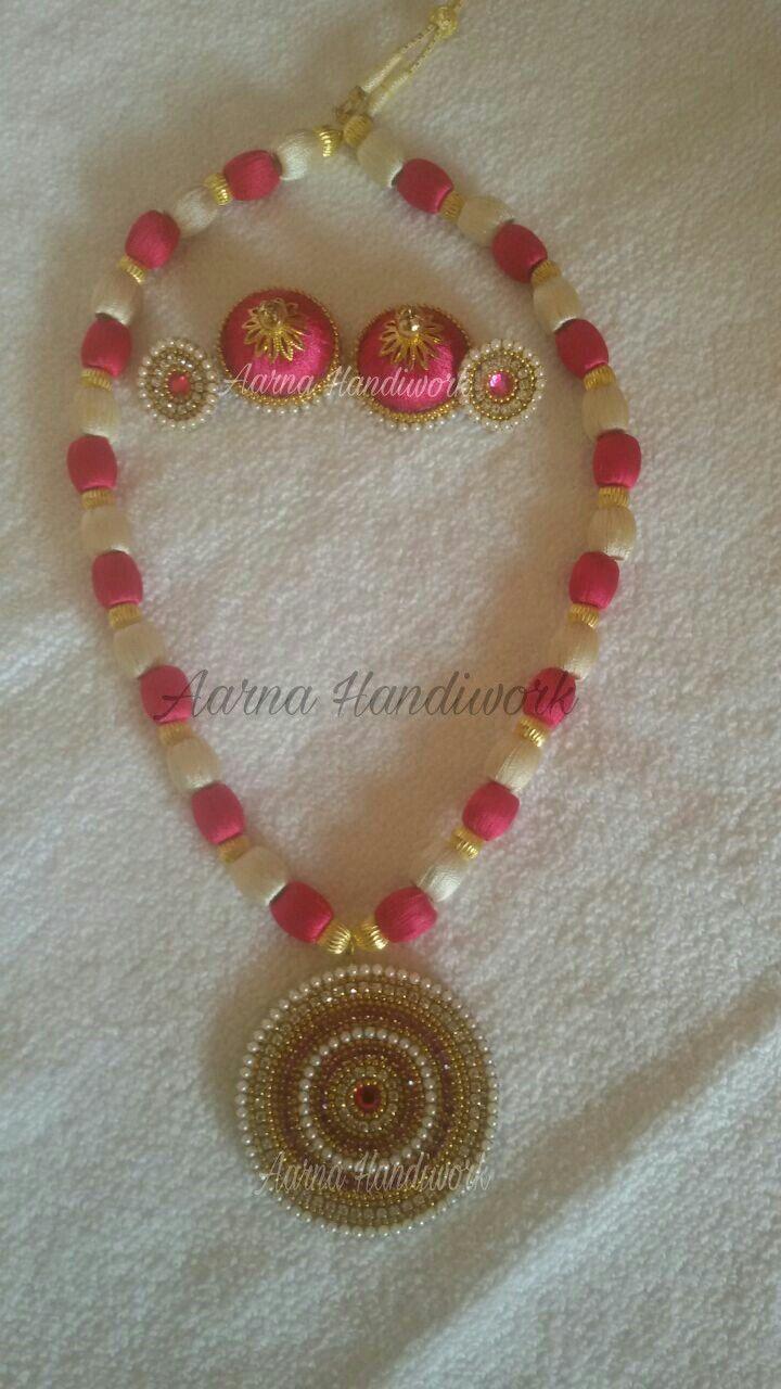 Pink and Cream Set