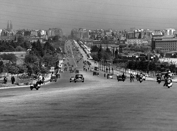 Llegada a Barcelona 1950. Francesc Catalá-Roca