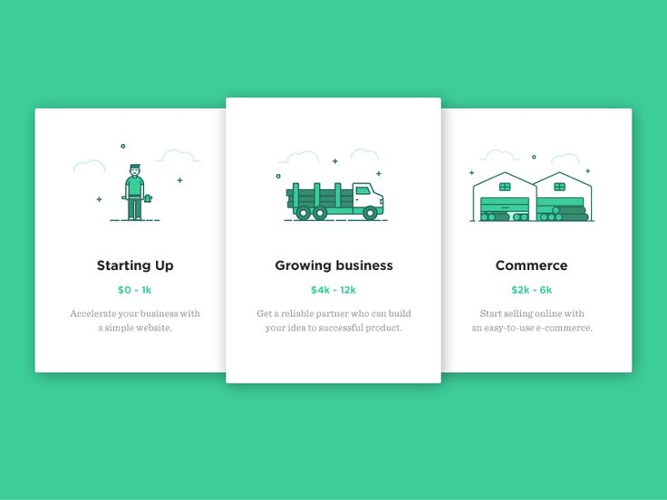 Pricing Table Illustration #2