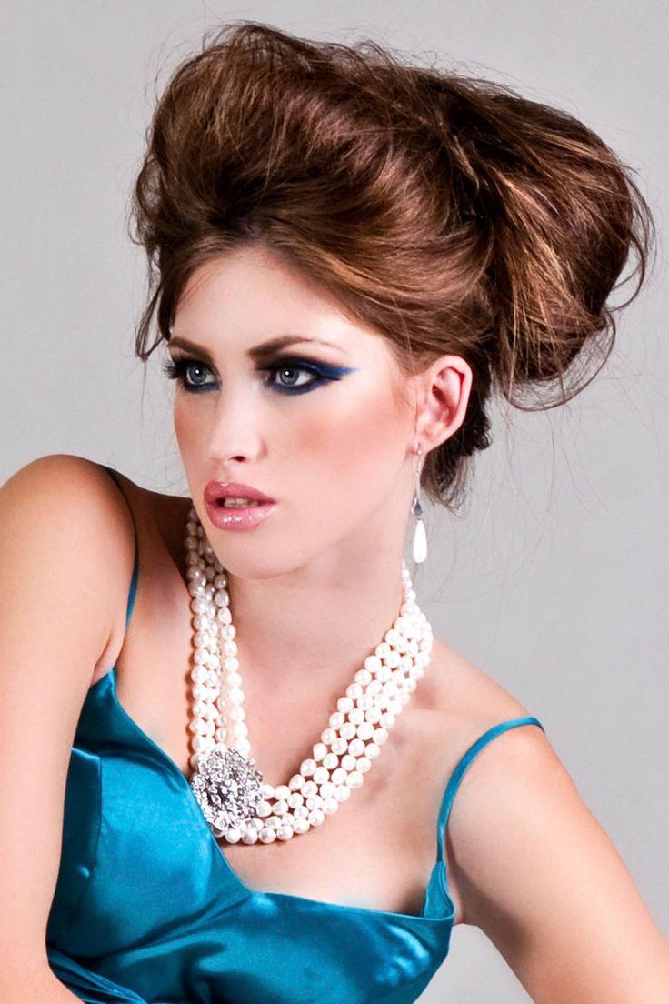 64 best sch ne hochsteckfrisuren images on pinterest medium length hairs wedding hair and