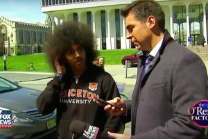 """Fox News' Jesse Watters stalks Yale campus to shout """"ghetto"""" in black students' faces"""
