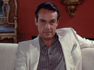 """Alejandro Sosa (Paul Shenar, Scarface) - """"I only tell you once. Don't fuck me, Tony. Don't you ever try to fuck me."""""""