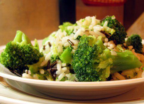 Фото рецепта: Рис с брокколи