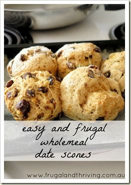 Got visitors coming? Nothing to serve them? No worries, if you have a basic scone recipe at hand. In the oven in 5 minutes, on the table in 20 - scones are a frugal and easy tea treat.