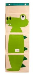 3 Sprouts Wall organiser Green Crocodile