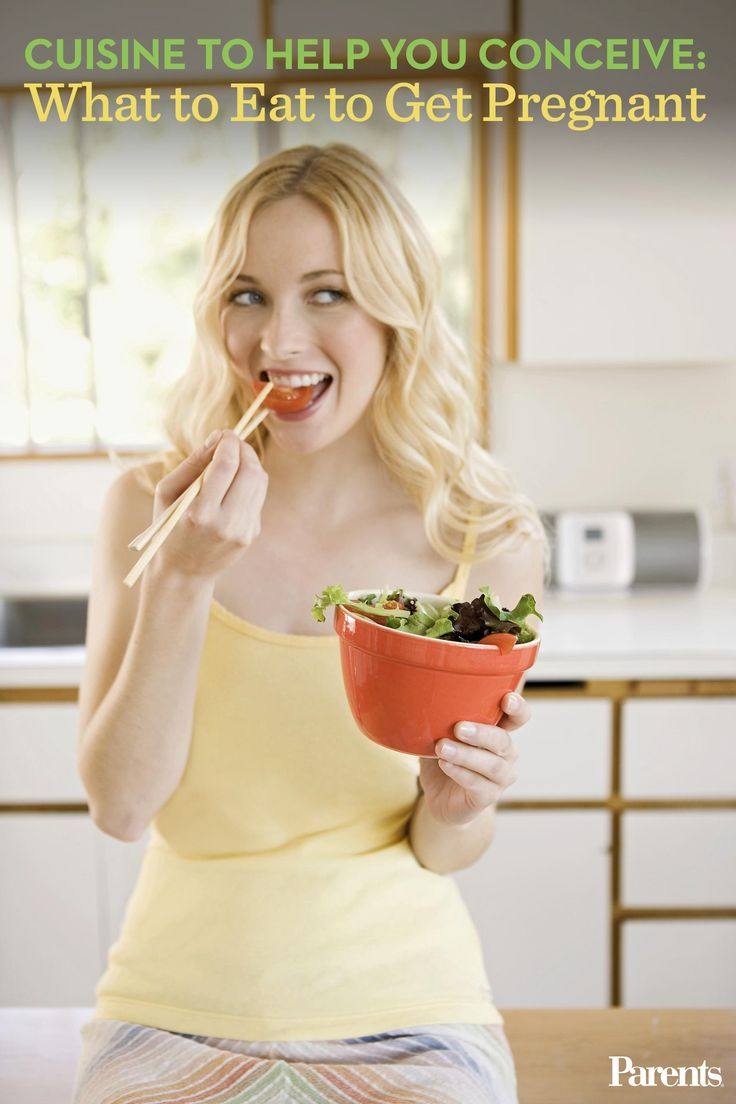 What you eat while trying to conceive is as important as what you consume when you're pregnant. Here's what you should--and shouldn't--be eating (and drinking) to boost your #fertility.