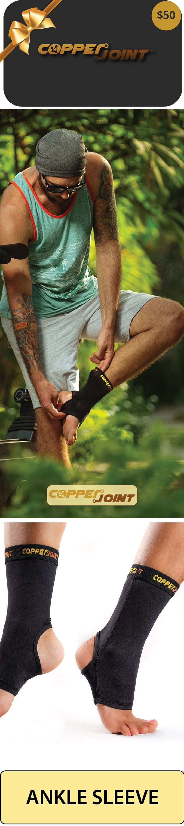 Durable, light weight and comfortable, gives you just the right level of support, keeps your sore ankle secure and warm so YOU can feel better and more secure, gives you added comfort, takes the pain away and helps you move around easily.