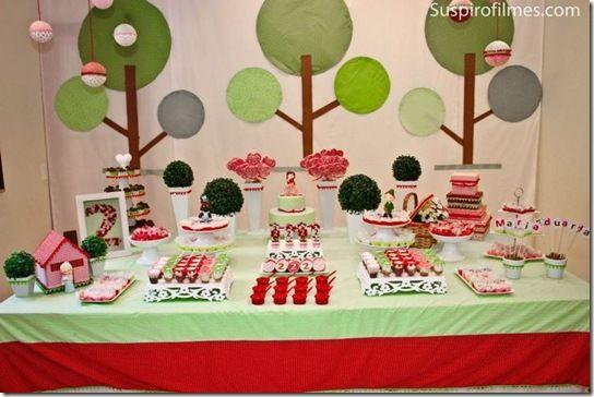 Festa de Chapeuzinho Vermelho – O dia da Festa! - Criative-se