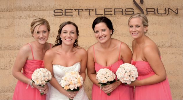 Settlers Run Wedding