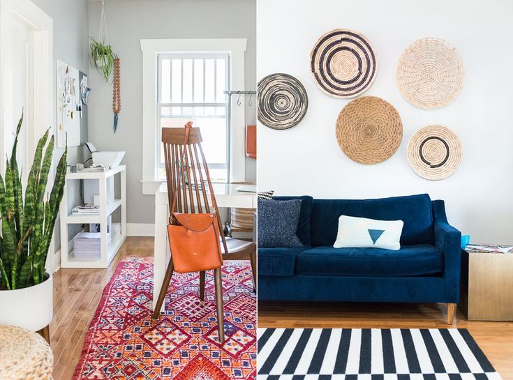 Dream Home Inspiration With Rugs USAs Homespun Stripes
