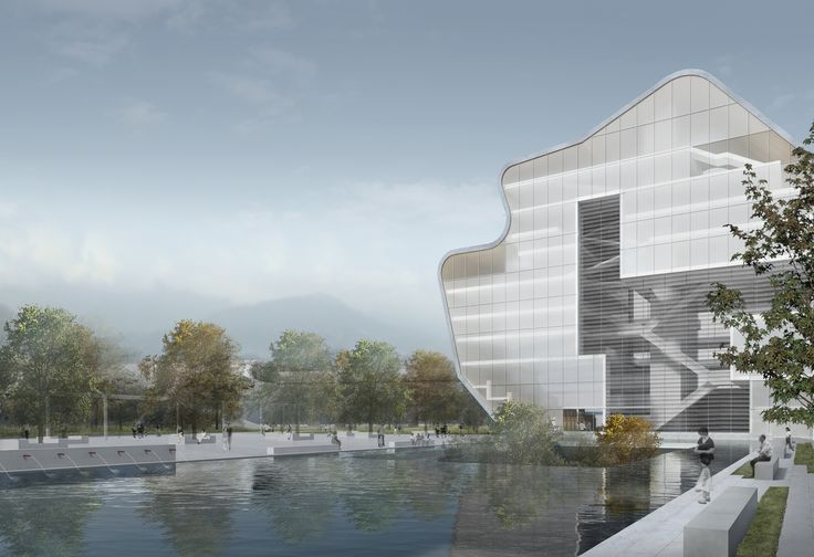 Steven Holl Architects Unveil Proposal for Shenzhen Art Museum and Library