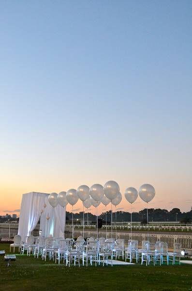 Decoración con globos con helio