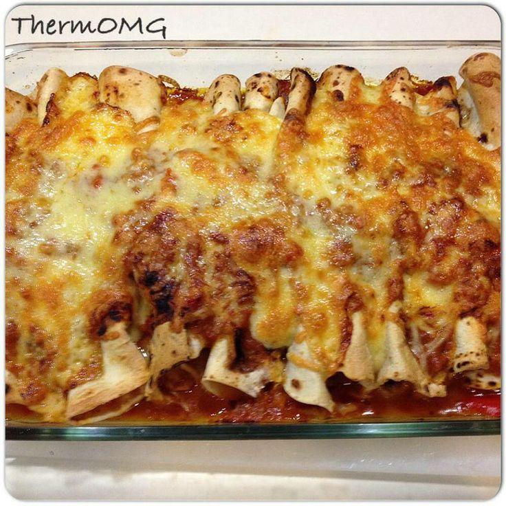 Chicken enchiladas Thermomix