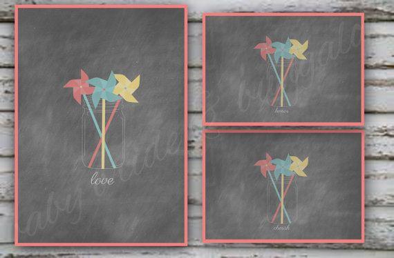 Background design for mason jar and by BabyBrideandBungalow, $7.00