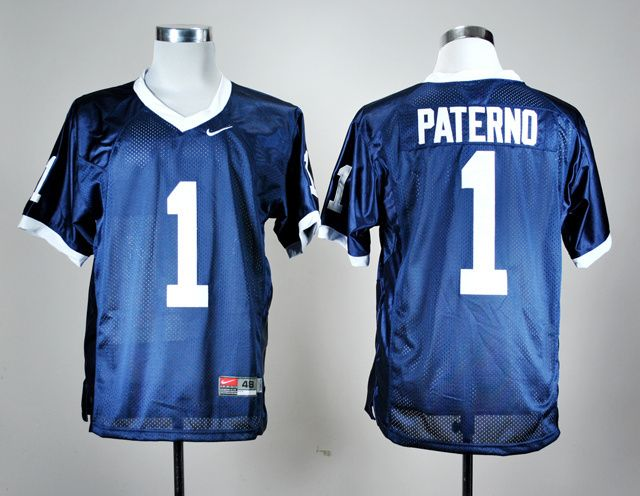 Men's NCAA Penn State Nittany Lions #1 Joe Paterno Navy Blue Jersey