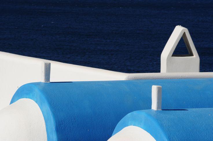 Shades of blue at Mykonos Grand Hotel & REsort