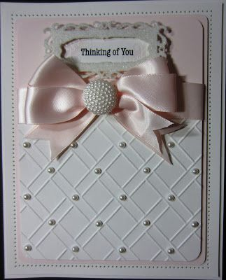 PartiCraft (Participate In Craft). Beautiful card from Sue Wilson, love her daily blog