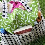 Made With Decorator Fabric: Nice & big! Made with sturdy decorators fabric and l…