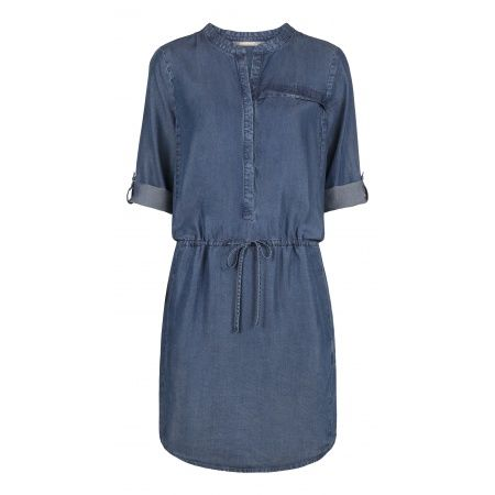 JOJOmode - Sandwich jurk dress - Chambray