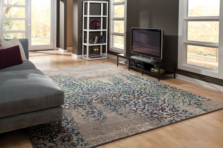 A fantastic area rug for your home from Oriental Weavers. Shade upon shade and texture upon texture, a great assortment of materials and colours that combine to offer an antiqued, yet modern aesthetic!
