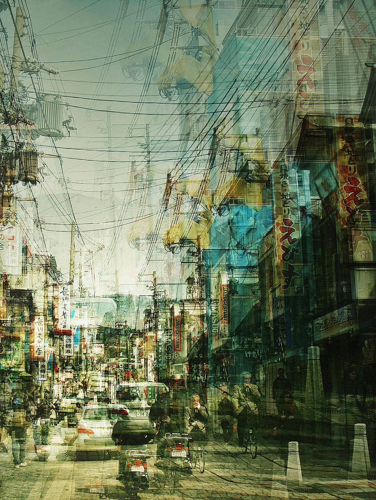Stephanie Jung:  Nara, Japan, multiple exposures