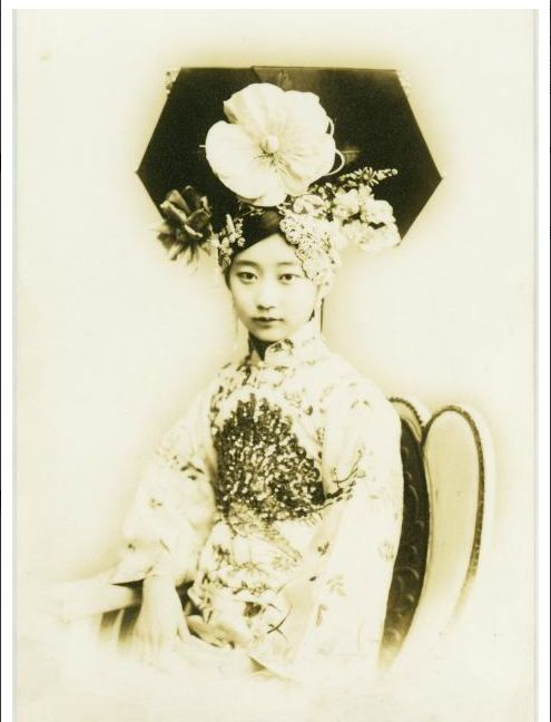 Chinese princess in Qing dynasty.