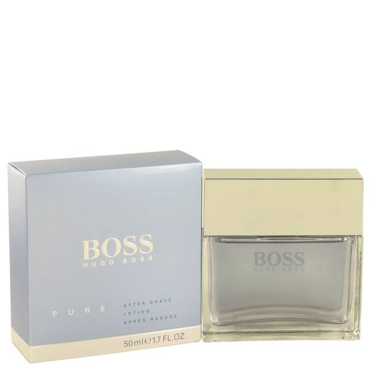 Boss Pure Cologne Aftershave by Hugo Boss 1.7 oz