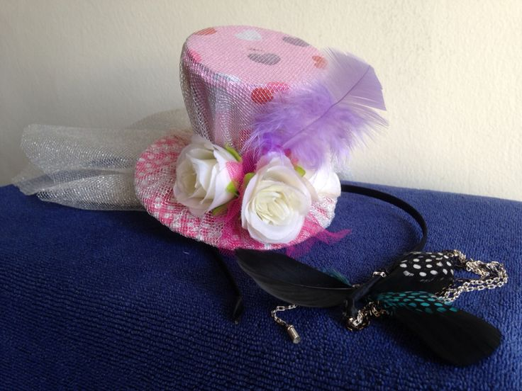 DIY cute mad hatter hat