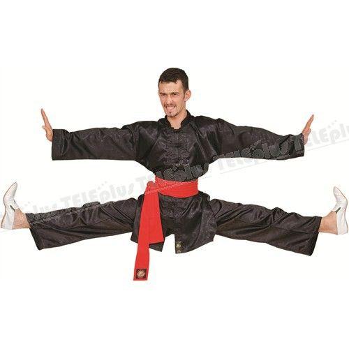 """Do-Smai Wushu-Nançuan Elbisesi - Kolsuz, 100 gr/m²su tutmaz jakarlı setenden """"Nançuan"""" elbiselerimizin önü polyester ipten örülmüş 7 adet siyah düğmeli, ön, etek ve koltuk altlarısiyah biyelerle çevrilmiştir: 150-190 arası 10 ar cm arayla 5 beden. - Price : TL94.00. Buy now at http://www.teleplus.com.tr/index.php/do-smai-wushu-nancuan-elbisesi.html"""