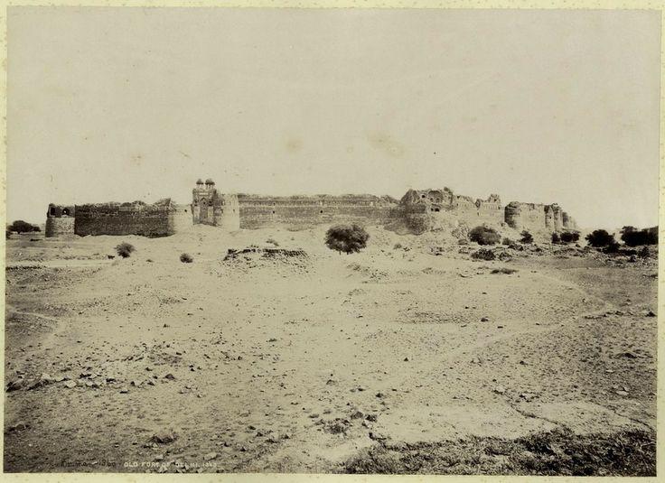 Purana Quila - Bourne & Shepherd (1880's)